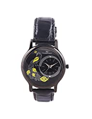 Frankford Fashion Analogue Black Dial Women's Watch-LS-6 BK PECOCK