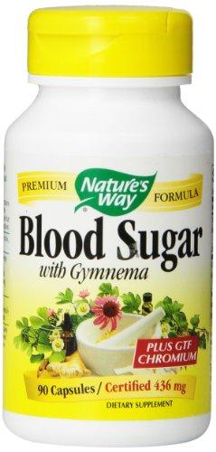 Nature'S Way Blood Sugar With Gymnema, 90 Capsules