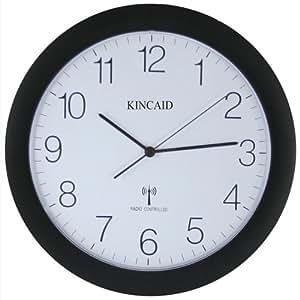 Kincaid Radio Controlled Wall Clock, Flat Screen