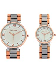 Piere Renee BTBG1234ROSEGOLD Analog Watch - For Couple (gold)