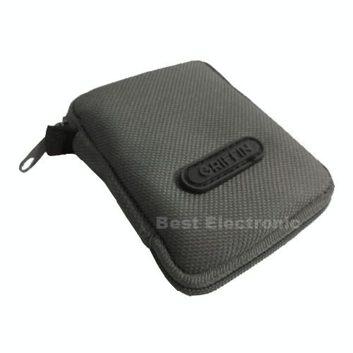 Gray Travel Pouch Case Cover Earbuds Headphone For Klipsch Jvc Sony Earphone