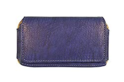 TOTTA PU Leather Hand Pouch For Celkon Millennia 2GB Xpress- BLUE