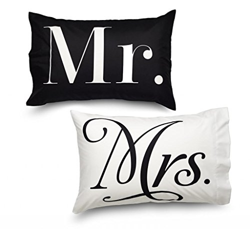 Lowest Prices! Queen Mr & Mr's Design Amadora Double Brushed Luxury Ultra Microfiber Pillowcase ...