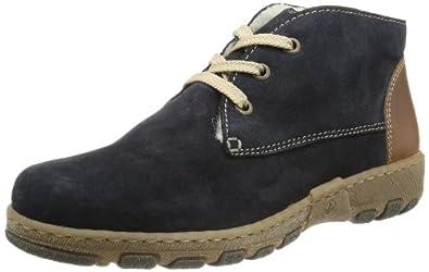 Rieker L0142, Damen Desert Boots, Blau (pilot/mogano 15), EU 36