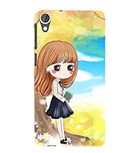 Vizagbeats Innocent Girl Back Case Cover for HTC Desire 820