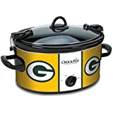 Official NFL Crock-pot Cook & Carry 6 Quart Slow Cooker - Green Bay Packers