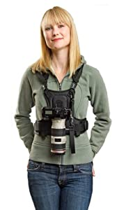 Cotton Carrier Camera Vest for 1 Camera, Black