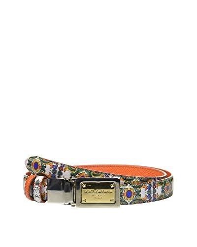 Dolce & Gabbana Ledergürtel mehrfarbig