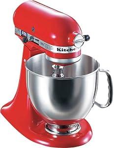 KitchenAid ミキサー エンパイヤレッド KSM150-ER