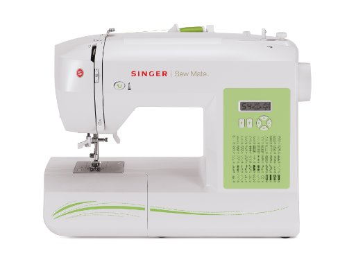 SINGER Factory Serviced 5400 Fashion Mate 60-Stitch Electronic Sewing Machine with 4 Buttonhole Styles and Variable Needle Positions (60 Stitch Sewing Machine compare prices)