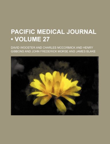 Pacific medical journal (Volume 27 )