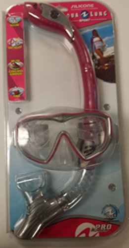 Pro Women Series Diva1 LX Snorkel and Mask 1002188 (Pink) (Aqua Lung Sport Pro Series compare prices)