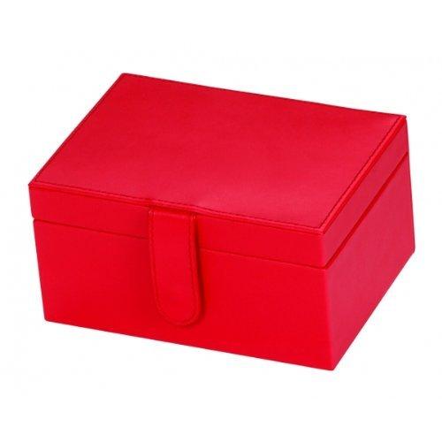 Rosso cuoio rigenerato Diana-Scatola porta gioielli Mele and Co