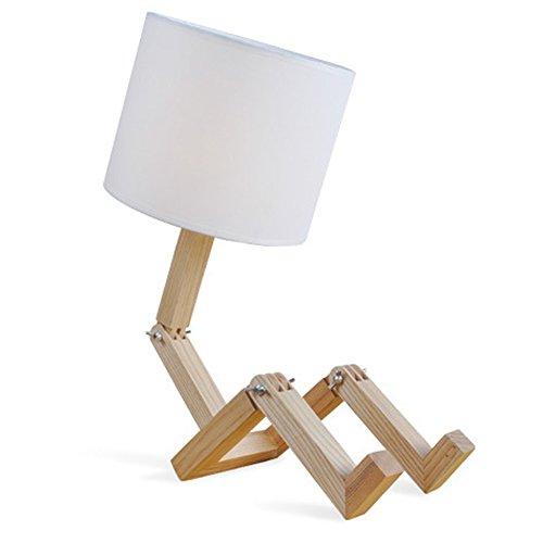 cdet-lampade-da-tavolo-in-legno-con-libreria-robot-come-portalampada-e27-lampadina-non-inclusa-bianc