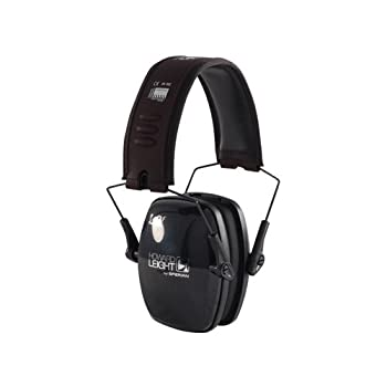 Howard Leight Leightning L0F Super Slimline Earmuff, Black
