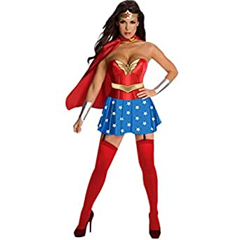 Nanxson(TM) Wonder Woman Adult Corset Costume EXW0025