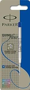 Parker Quinkflow Ball Pen Refill Medium - Blue (Blister Pack)