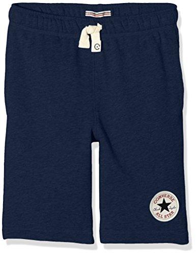 Converse French Terry, Shorts Bambino, Blu (Navy), 5-6 anni (Taglia Produttore: 5-6Y)
