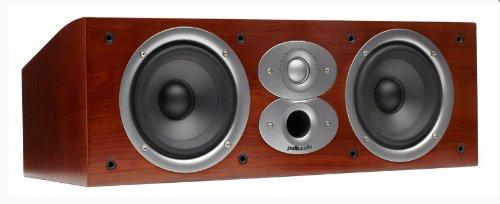 Polk Audio Csi A4 Center Channel Speaker (Single, Cherry)