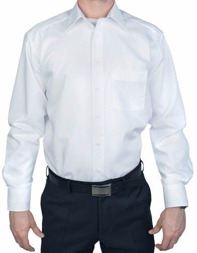 Marvelis -  Camicia classiche  - Basic - Classico  - Maniche lunghe  - Uomo bianco 46