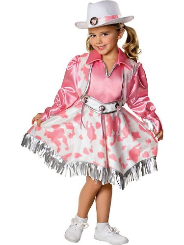 Rubies Let's Pretend Collection Western Diva Costume