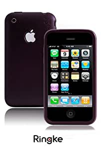 [Maroon] Apple iPhone 3GS Rearth Ringke Silicone Case