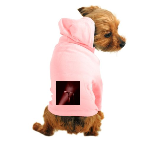 Cafepress Microphone On Stage - Dog Hoodie - Xs Light Pink [Misc.]