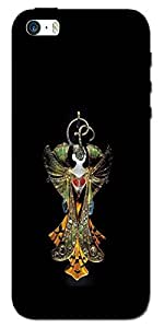 SEI HEI KI Designer Back Cover For Apple I Phone 5 - Multicolor