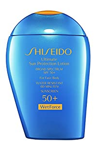 Shiseido Ultimate Sun Protection Lotion SPF 50+ For Face & Body
