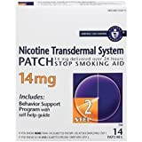 Habitrol Nicotine Transdermal System Step 2 Patch 14mg 14's - Pack of 12