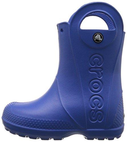 crocs Handle It Rain Boot, Unisex-Kinder Kurzschaft Gummistiefel, Blau (Sea Blue 430), 28/29 EU (C11 Unisex-Kinder UK) -