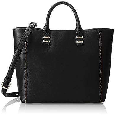 Rebecca Minkoff Mini Perry Tote Handbag,Black,One Size