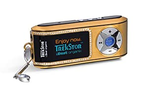 TrekStor i.Beat Organix 1 GB MP3 Player (Gold)