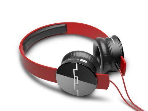 Sol Republic Tracks On-Ear Headphones (Red)