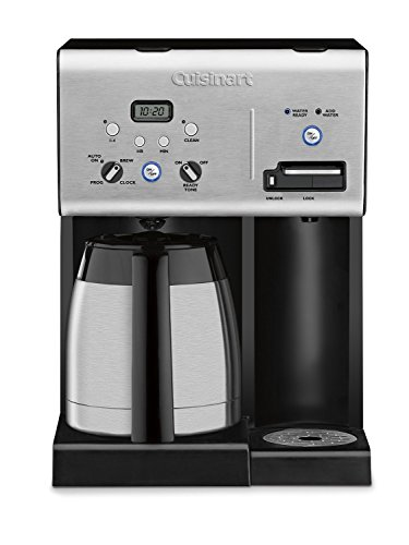 Cuisinart CHW-14 Coffee Plus 10-Cup Thermal Programmable Coffeemaker and Hot Water System (Water Carafe With Cup compare prices)