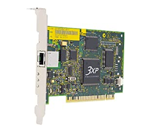 3Com 10/100 PCI Etherlink Network Interface Card with 3Des 168-Bit Enc W2000 3XP Processor