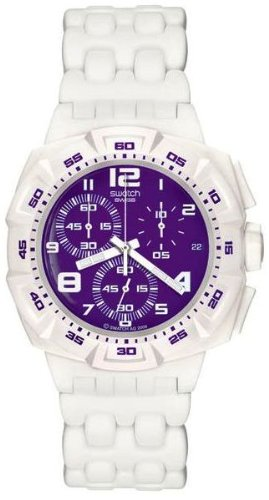 Swatch Originals Chrono Plastic Purple Purity Watch SUIW404