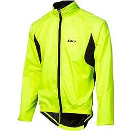 Louis Garneau Men\'s Modesto 2 Cycling Jacket, Bright Yellow, X-Large