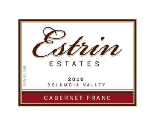 2010 Estrin Estates Cabernet Franc 750 Ml