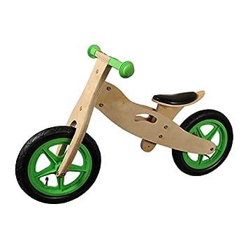 12 pouces draisienne Greenhorn en bois vert / nature vélo d´apprentissage