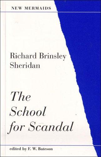 School for Scandal (New Mermaids (A & C Black Ltd.))