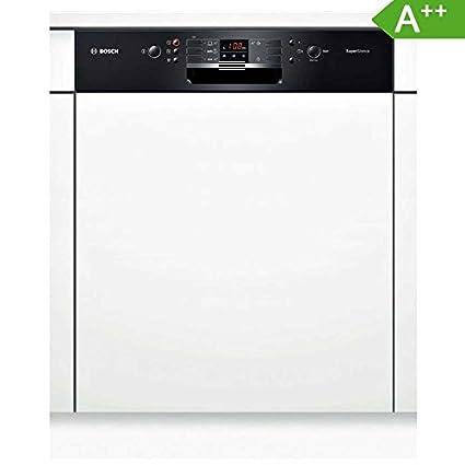 Bosch SMI53L86EU lave-vaisselle - lave-vaisselles (Semi intégré, A, A++, Noir, Blanc, boutons, 50/60 Hz)