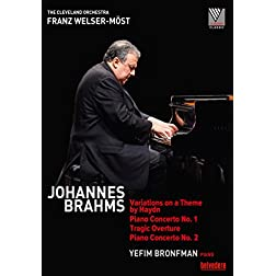 Brahms: Variations on a Theme by Haydn, Op. 56a; Piano Conertos Nos. 1 & 2; Tragic Overture, Op. 81 [Blu-ray]