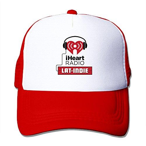 iheartradio-bassball-cap-trucker-hat-with-mesh-caps