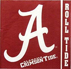 Alabama Crimson Tide Lunch Napkins