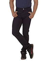 RACE-Q Dark Blue Basic Jeans for Men