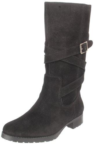 Lauren Ralph Lauren Women'S Shelby Boot,Black,6 B Us