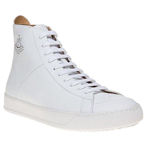 Vivienne Westwood Tennis High Top Uomo Sneaker Bianco