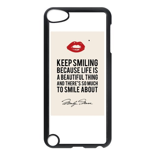 Marilyn Monroe Quotes Ipod Touch 5th Generation Case Hard Plastic Ipod