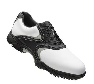 FootJoy Contour Series Golf Shoes 54014 White/Black/Grey Medium 9